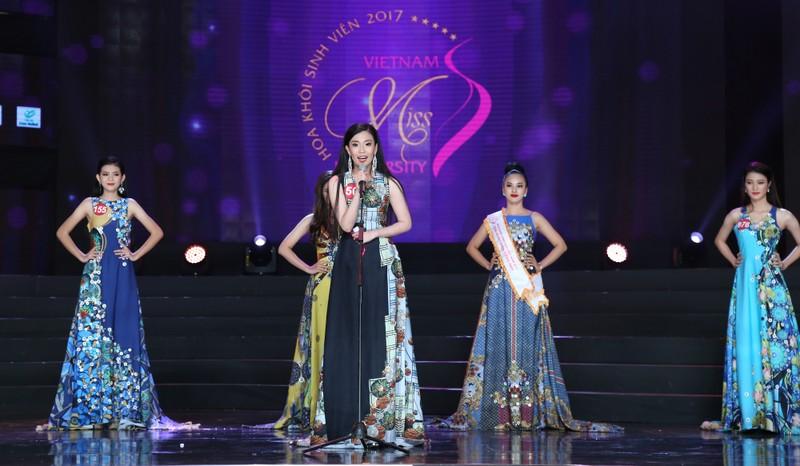 Nữ sinh Tây Đô đăng quang Hoa khôi Sinh viên VN 2017 - ảnh 8