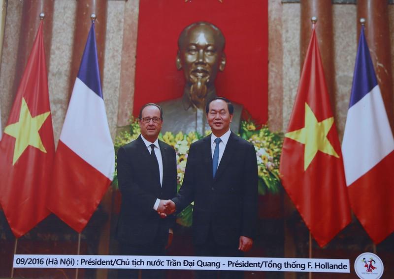 Ấn tượng 45 năm quan hệ ngoại giao Việt-Pháp qua ảnh - ảnh 12