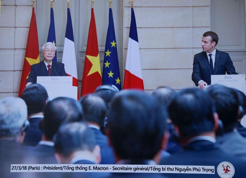 Ấn tượng 45 năm quan hệ ngoại giao Việt-Pháp qua ảnh - ảnh 14