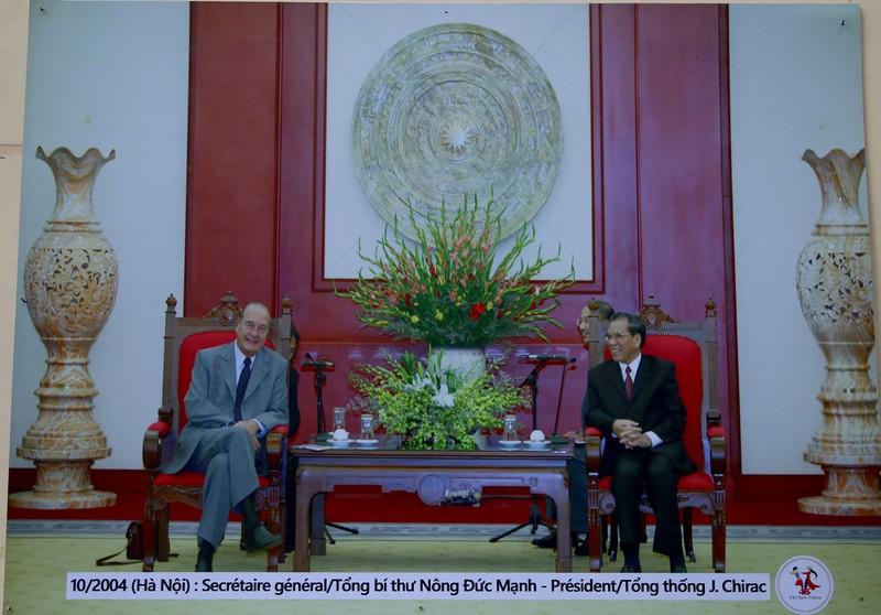 Ấn tượng 45 năm quan hệ ngoại giao Việt-Pháp qua ảnh - ảnh 9