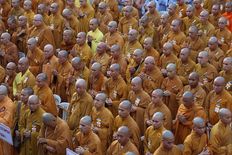 Hàng ngàn người mừng Phật đản tại Việt Nam Quốc Tự - ảnh 2