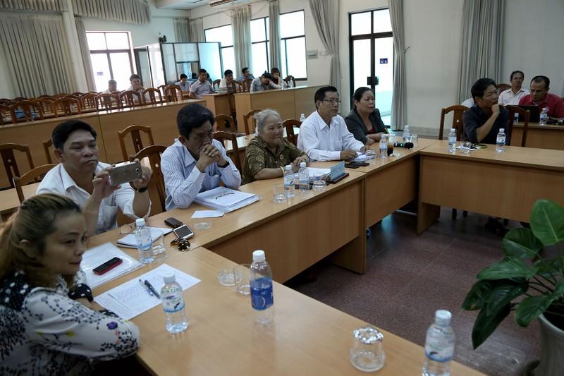 Toàn cảnh lãnh đạo Ban Tiếp dân TW và TP.HCM gặp dân Thủ Thiêm - ảnh 2