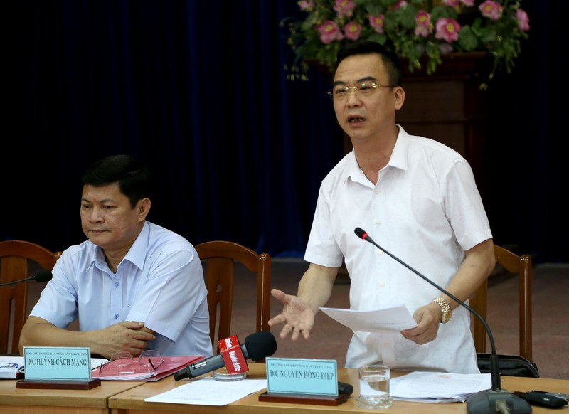 Toàn cảnh lãnh đạo Ban Tiếp dân TW và TP.HCM gặp dân Thủ Thiêm - ảnh 8