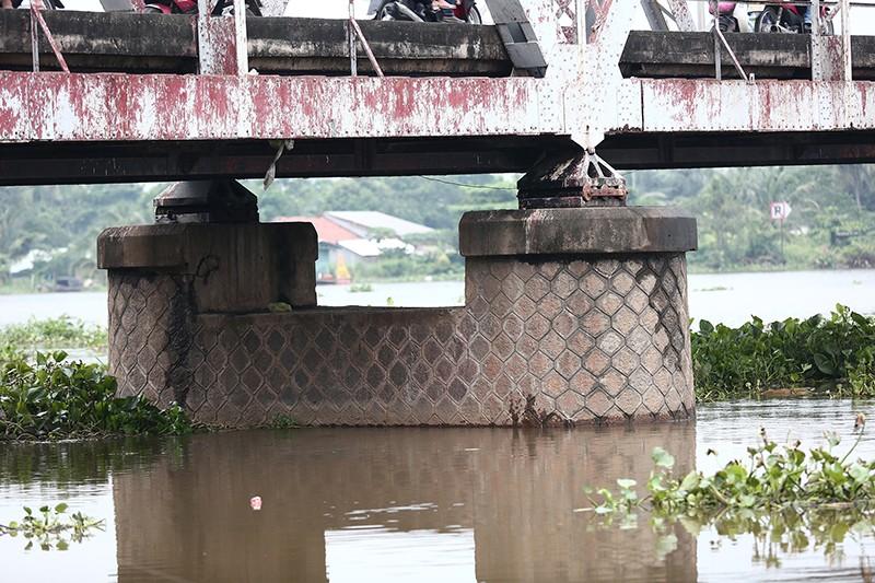 Cận cảnh cầu cổ hơn 100 tuổi sắp tháo dỡ ở Sài Gòn - ảnh 9