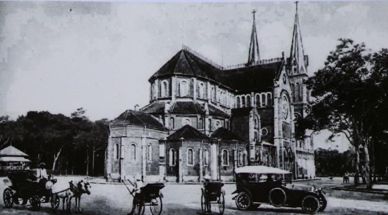 Dấu ấn kiến trúc Pháp ở Sài Gòn qua ảnh - ảnh 2