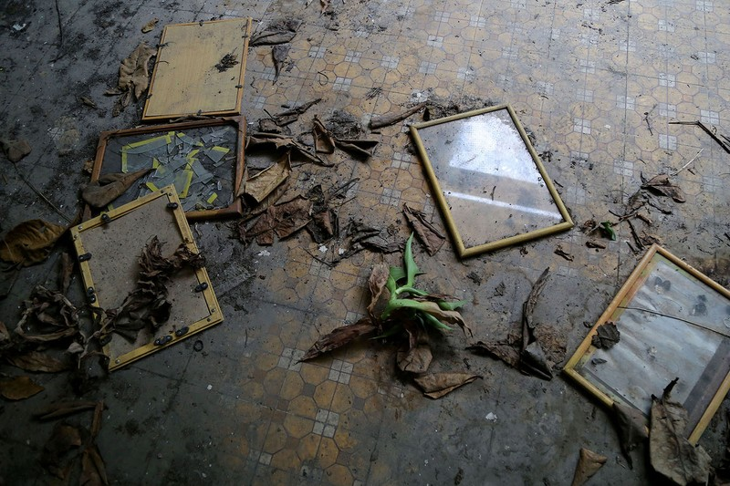 Ngôi trường tiểu học bỏ hoang gần 3 năm ở TP.HCM - ảnh 14