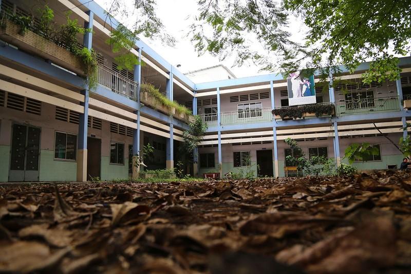 Ngôi trường tiểu học bỏ hoang gần 3 năm ở TP.HCM - ảnh 2
