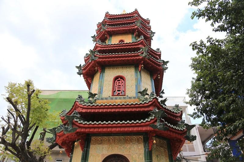 Cận cảnh ngôi chùa có tháp bằng gốm cao nhất Việt Nam - ảnh 3