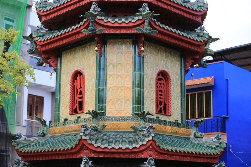 Cận cảnh ngôi chùa có tháp bằng gốm cao nhất Việt Nam - ảnh 4