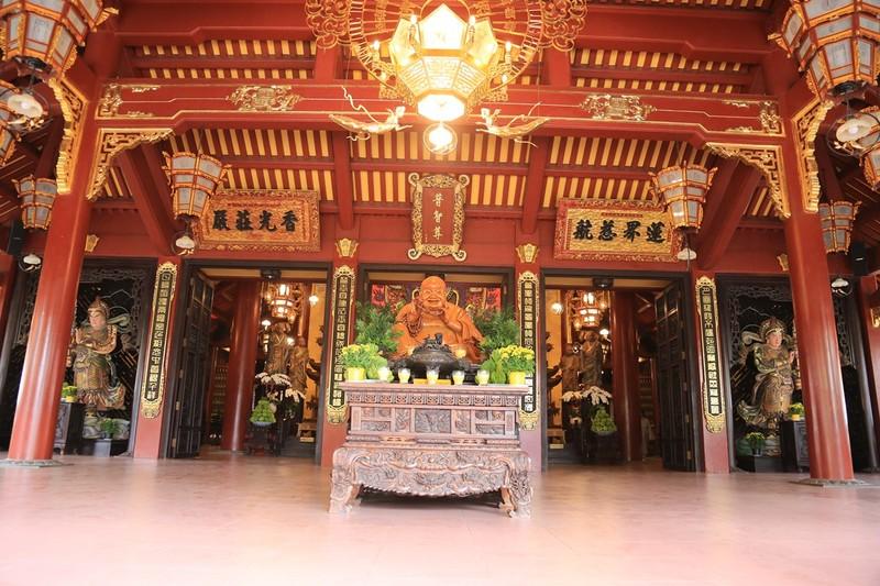 Cận cảnh ngôi chùa có tháp bằng gốm cao nhất Việt Nam - ảnh 6