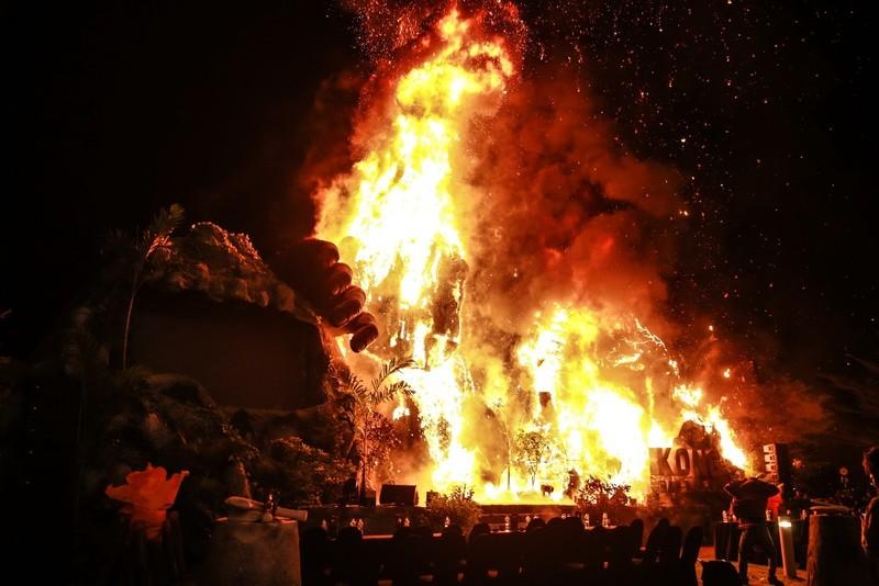 Chùm ảnh cháy nổ buổi ra mắt phim Kong: Skull Island - ảnh 3