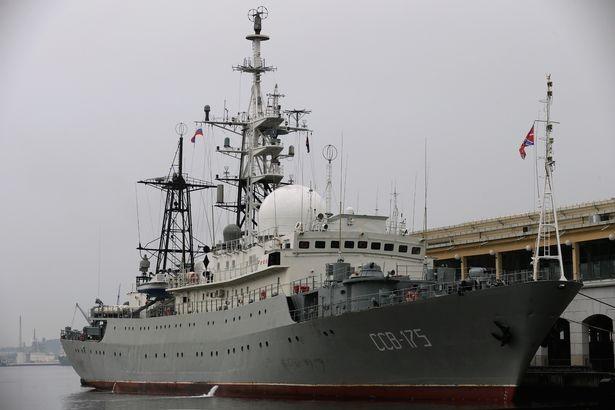 Tàu do thám Nga-Trung cùng theo dõi Mỹ - ảnh 2