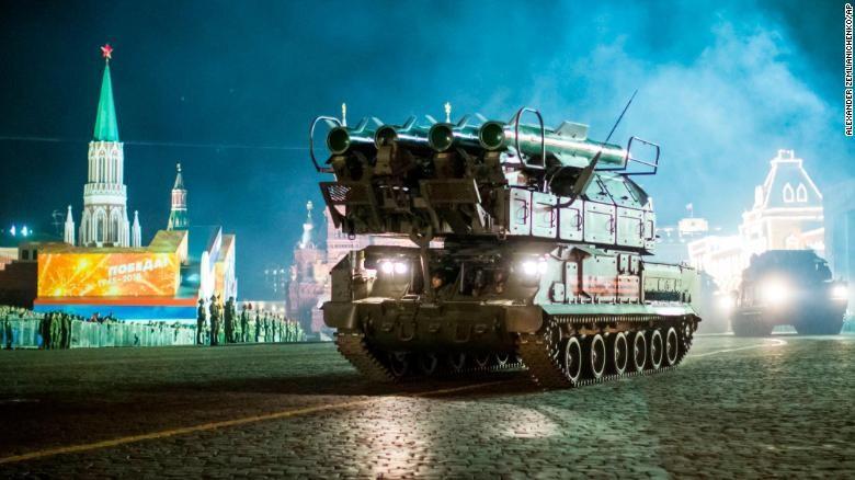 Dàn vũ khí 'khủng' Nga phô diễn trong lễ duyệt binh - ảnh 6