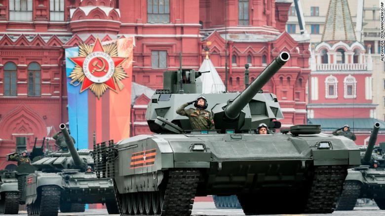 Dàn vũ khí 'khủng' Nga phô diễn trong lễ duyệt binh - ảnh 4