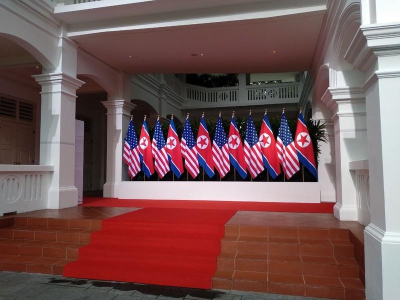 Ông Trump và ông Kim sẽ gặp riêng 45 phút - ảnh 1