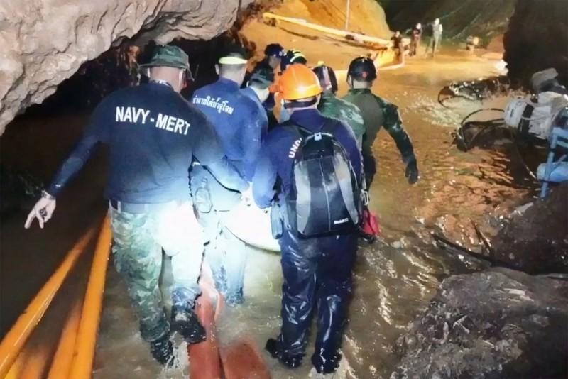 Thái Lan bắt đầu sứ mệnh mới, khôi phục hang Tham Luang - ảnh 3