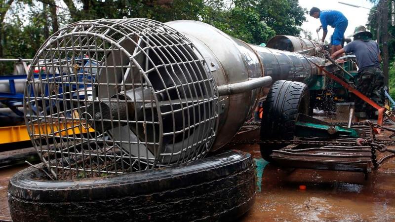 Thái Lan bắt đầu sứ mệnh mới, khôi phục hang Tham Luang - ảnh 2