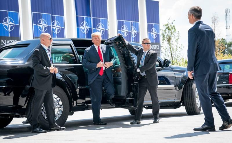 Ông Trump đòi các nước NATO tăng gấp đôi chi tiêu quốc phòng  - ảnh 1