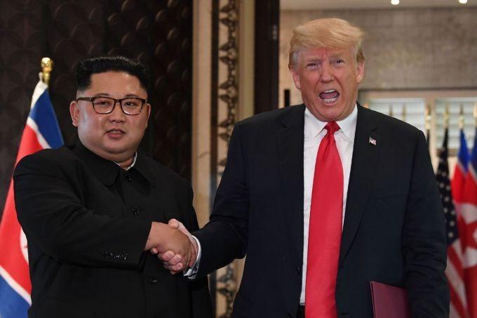 Ông Trump khen thư ông Kim 'hay' - ảnh 2