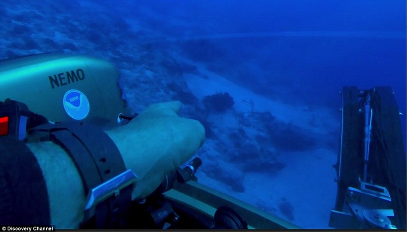 Phát hiện tàu người ngoài hành tinh dưới tam giác quỷ Bermuda? - ảnh 5