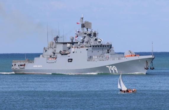 Nga điều tàu chiến mang tên lửa Kalibr tới gần Syria - ảnh 1