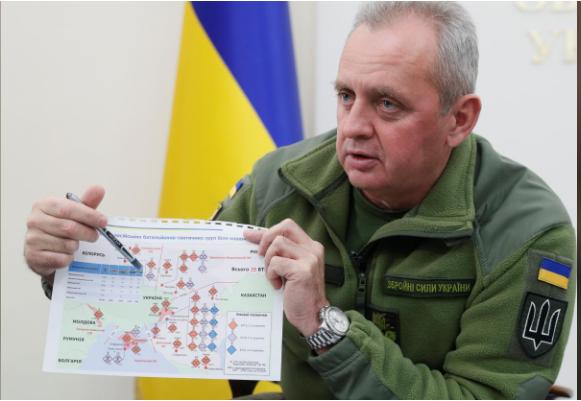 Dàn xe tăng Nga cách biên giới Ukraine chỉ 18 km - ảnh 1