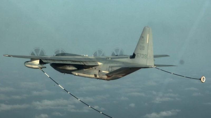 Hai máy bay Mỹ đâm nhau ở Nhật, 6 quân nhân mất tích - ảnh 1