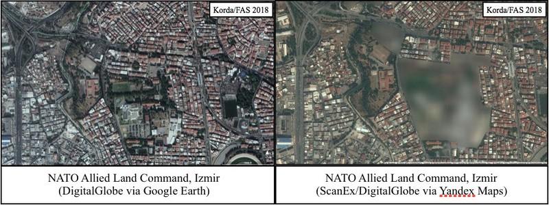 Bản đồ trực tuyến Nga làm lộ 2 căn cứ tuyệt mật của NATO - ảnh 2