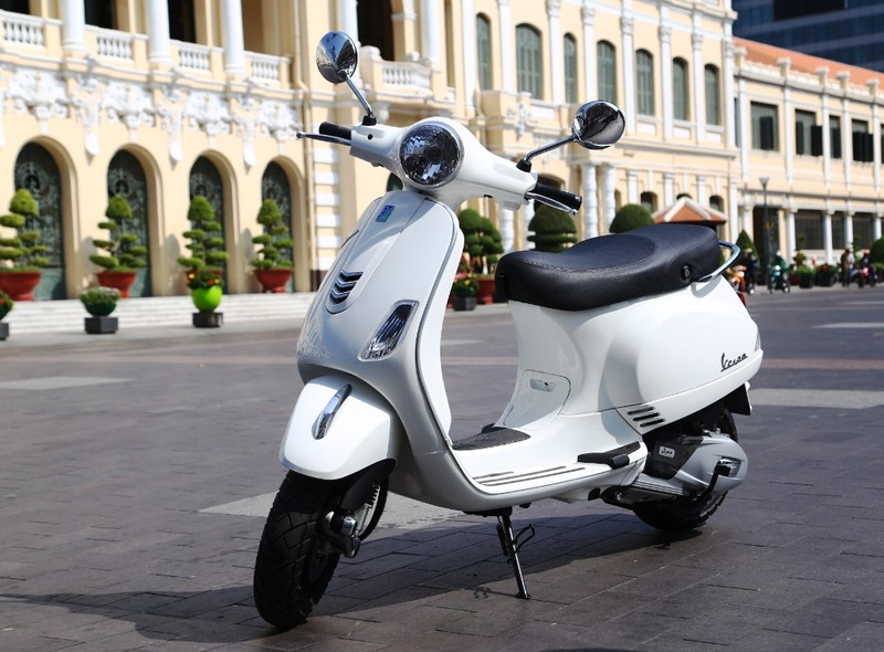 Vespa LX iGet 125cc mới: 67,9 triệu đồng - ảnh 5