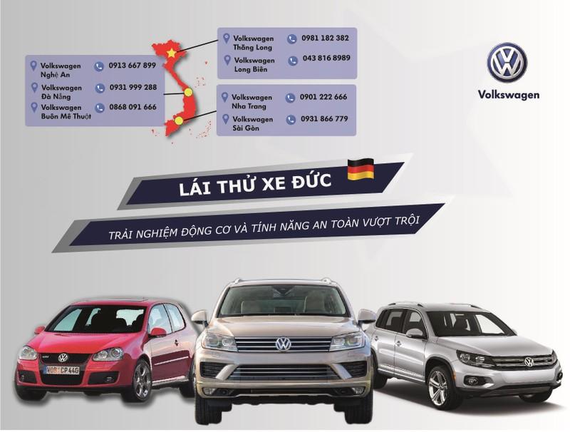 Chương trình lái thử xe Đức - Volkswagen - ảnh 1