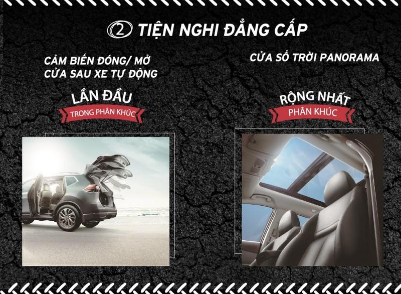 Ba điểm ưu việt của Nissan X-Trail - ảnh 3