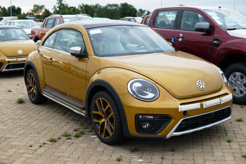 """""""Con bọ"""" Volkswagen Beetle Dune đã về cảng Hiệp Phước - ảnh 6"""