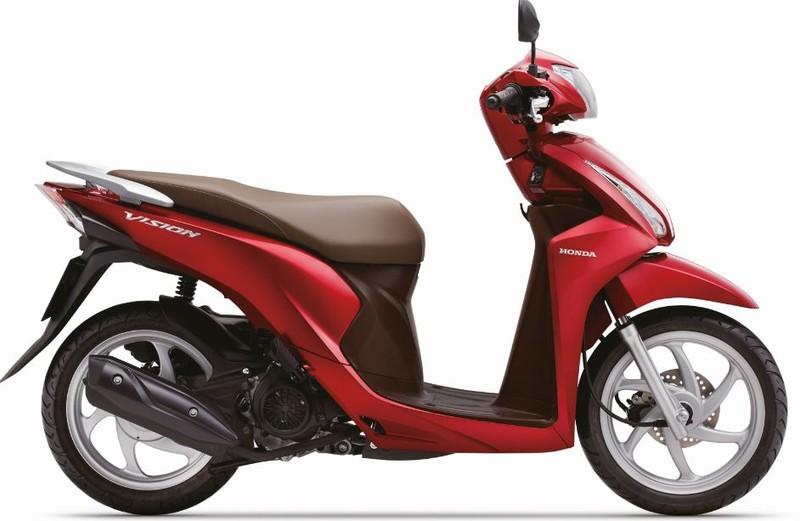 Honda Vision cải tiến mới, thêm nhiều màu mới - ảnh 3