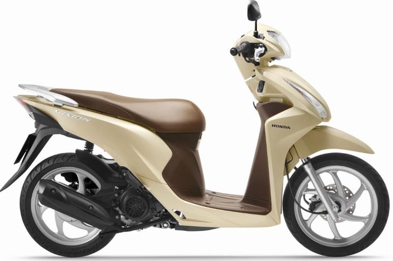 Honda Vision cải tiến mới, thêm nhiều màu mới - ảnh 5