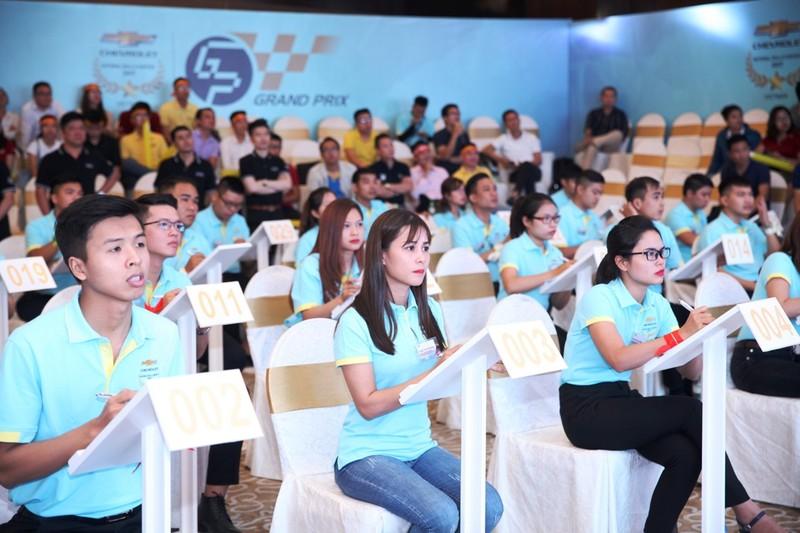 GM Việt Nam: Cuộc thi kỹ năng bán hàng và tay nghề 2017 - ảnh 1