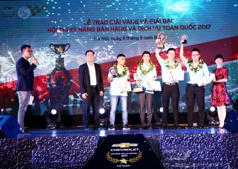 GM Việt Nam: Cuộc thi kỹ năng bán hàng và tay nghề 2017 - ảnh 6