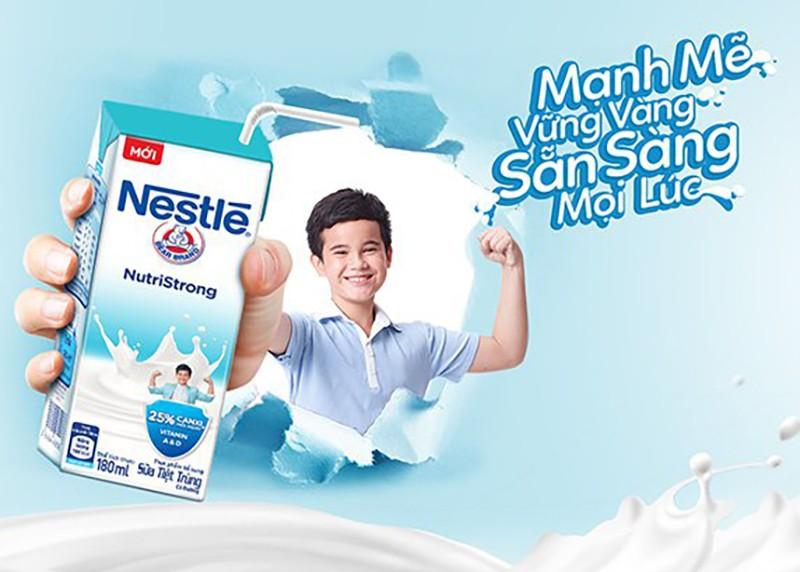 Nestlé ra mắt sữa nước bổ sung 25% canxi cho trẻ - ảnh 1
