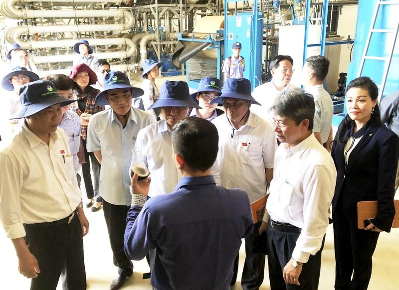 Đoàn giám sát của Quốc hội thăm, làm việc rác Đa Phước - ảnh 3