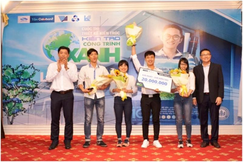 """ĐH Bách khoa đạt giải nhất cuộc thi """"Kiến tạo công trình xanh"""" - ảnh 1"""
