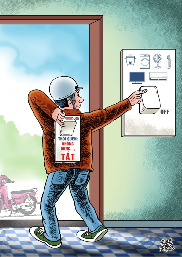 EVN khuyến cáo dùng điện tiết kiệm khi thời tiết nắng nóng - ảnh 1