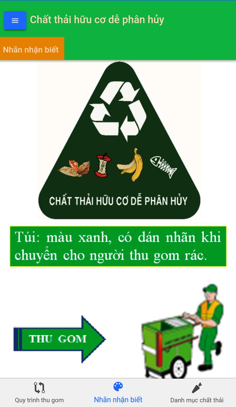 Phân loại rác thải ngay trên điện thoại thông minh - ảnh 1