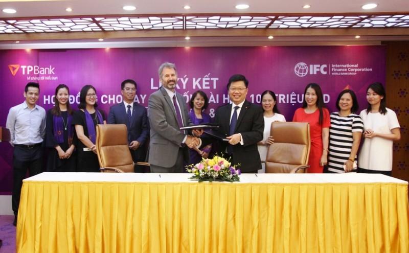IFC thu xếp khoản vay dài hạn 100 triệu USD cho TPBank - ảnh 1
