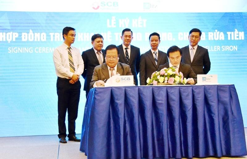 SCB ký hợp tác với Blitz, Crestcom và Visa - ảnh 1