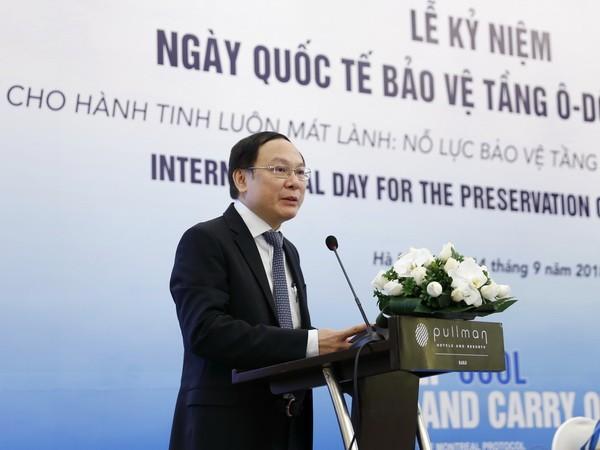 Việt Nam nỗ lực bảo vệ tầng ozone và khí hậu - ảnh 1