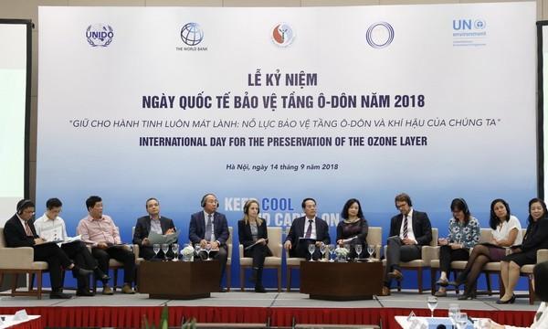 Việt Nam nỗ lực bảo vệ tầng ozone và khí hậu - ảnh 2