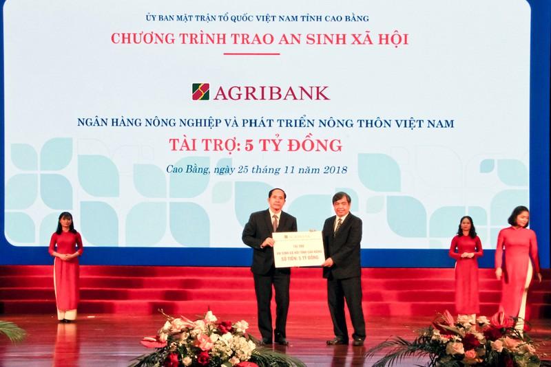 Agribank cam kết đầu tư hơn 700 tỉ đồng tại Cao Bằng - ảnh 2