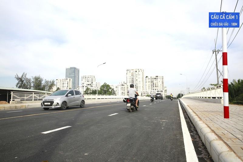 Phú Mỹ Hưng thông xe cầu Cả Cấm 1, quận 7 - ảnh 1
