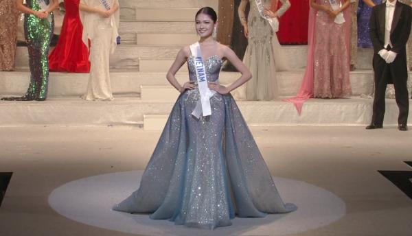 Ngắm Thùy Dung mặc bikini chung kết Hoa hậu Quốc tế  - ảnh 8