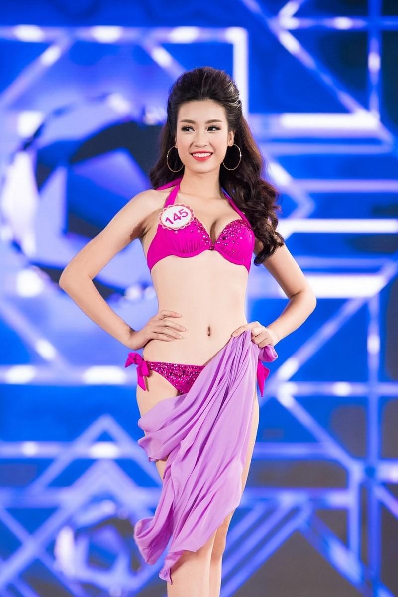 Hoa hậu Mỹ Linh diện bikini trước chung kết Miss World - ảnh 2
