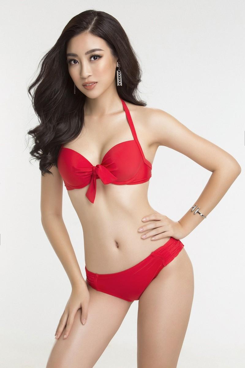 Hoa hậu Mỹ Linh diện bikini trước chung kết Miss World - ảnh 6